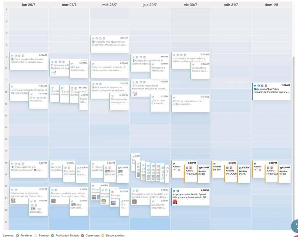 calendario editorial PY