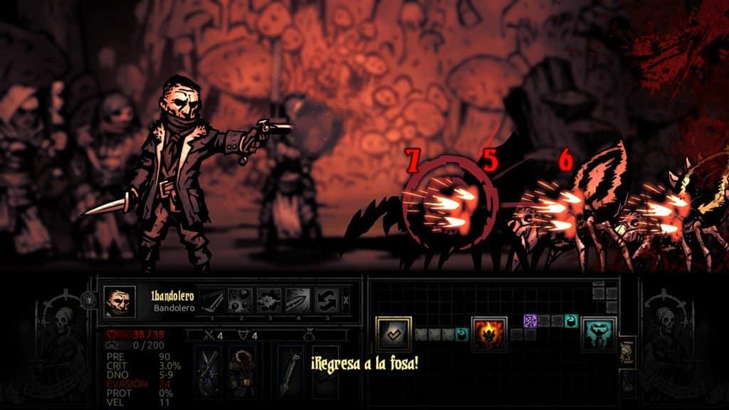 combates darkest dungeon