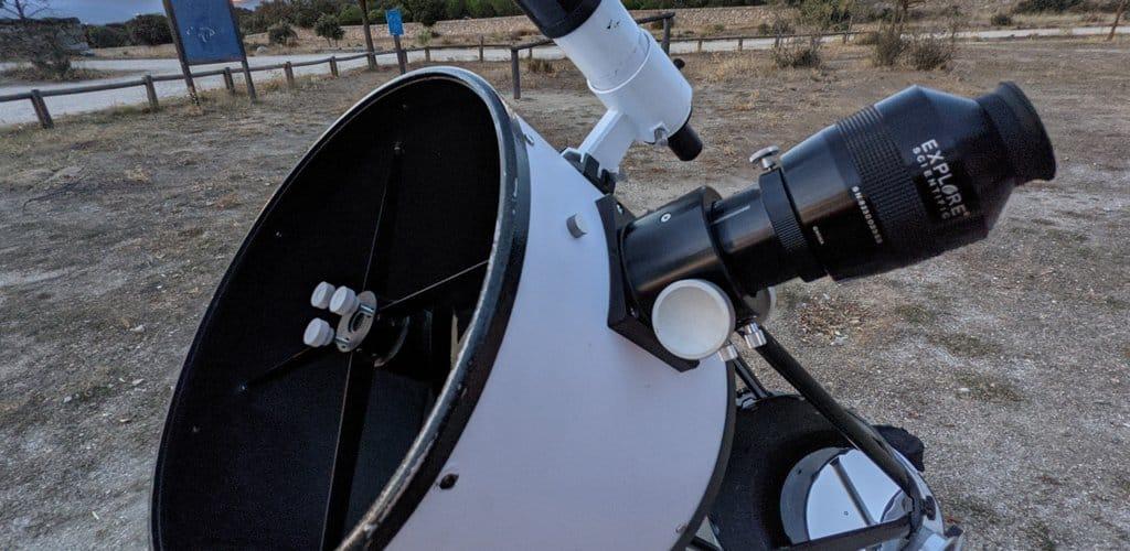 telescopio astronomia dobson