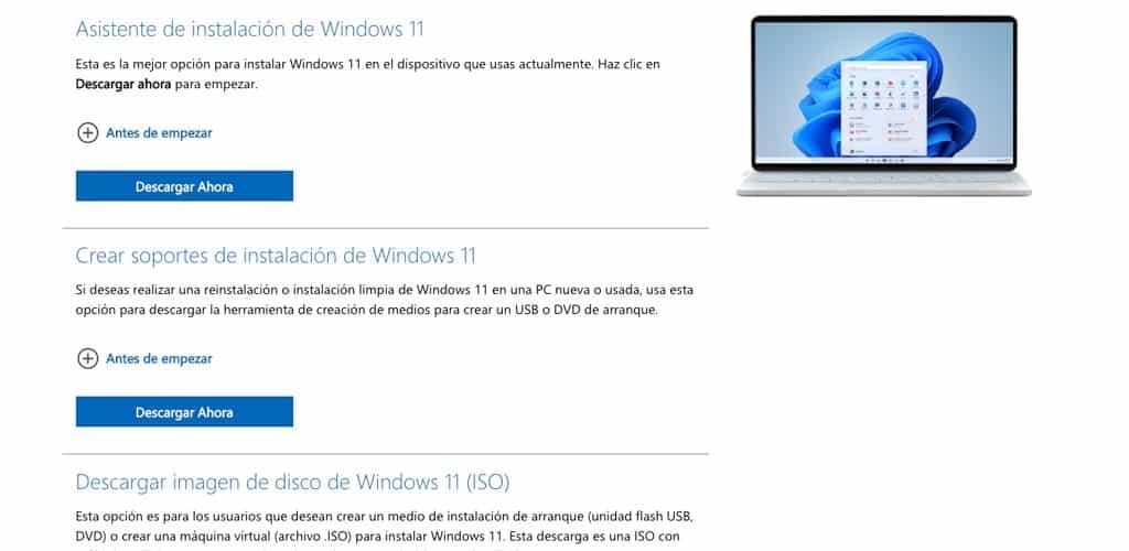 instalar windows11 usb
