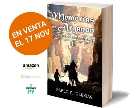 portada 3d Memorias de Árganon III